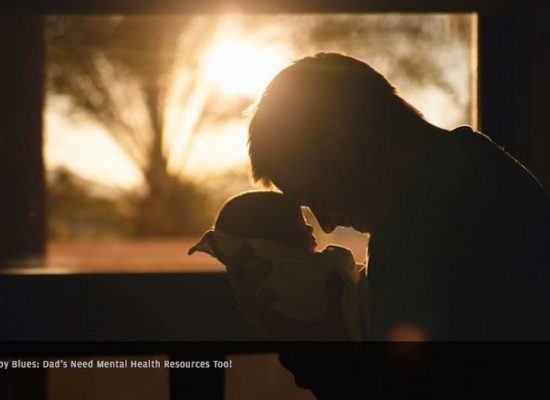 Perinatal Depression and Anxiety week is this week , 11-17 November. Did you know that dads can also get baby blues?
