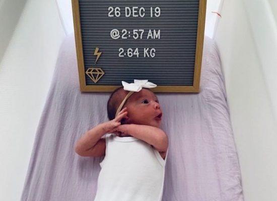 Welcome 'earthside' baby Stella Iris