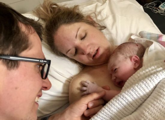 The 'perfect' birth of Charlotte