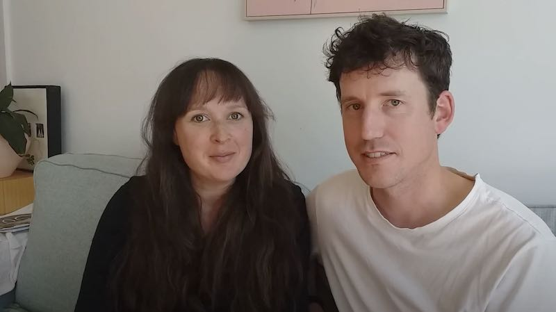 Calmbirth couple  share their gratitude for Calmbirth as part of the Pilot Study in Auckland City Hospital